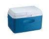 RUBBERMAID COOLER 34QT MODERN BLUE AND RED