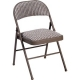 FOLDING CHAIR PADDED GREY SUPERIOR 169