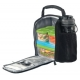 RUBBERMAID LUNCH BAG SM ETCH BLK