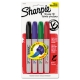 SHARPIE PERMANENT  BRUSH TIP 4/CT ASST